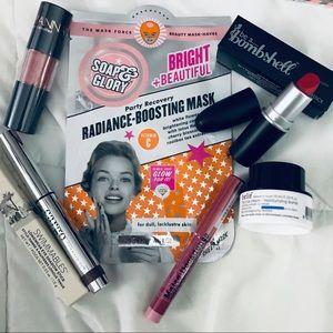 Makeup bundle - belif cargo soap & glory NEW